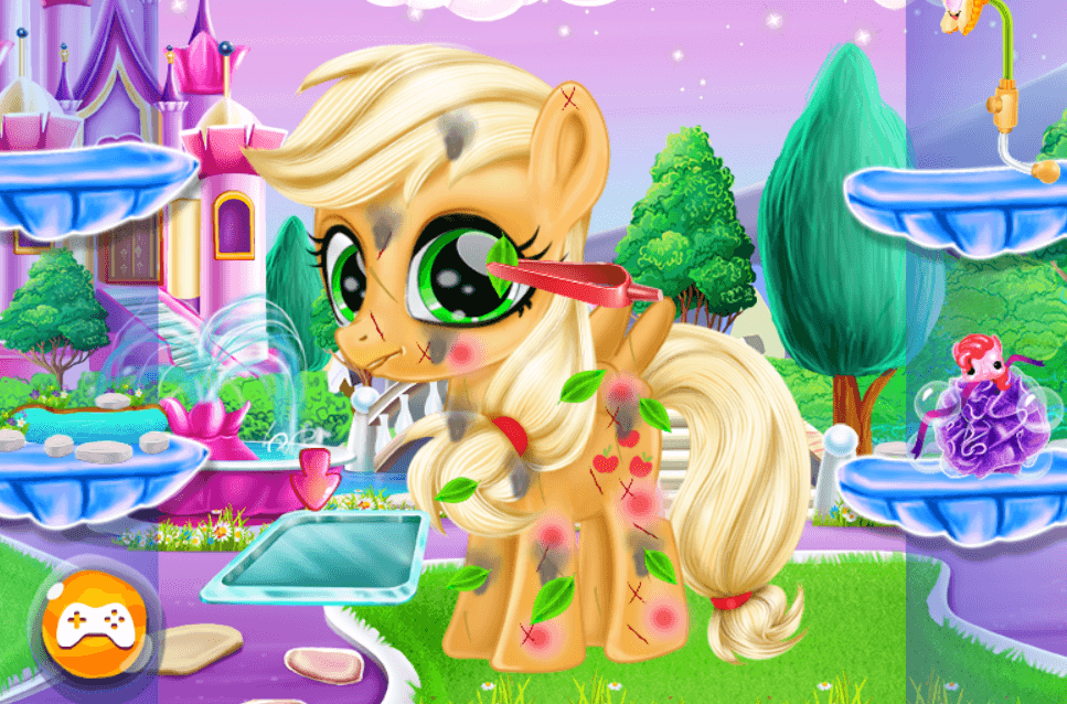 Image Cute Pony Care