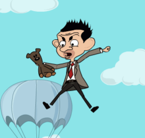 Image Mr Bean Jumps Crazy