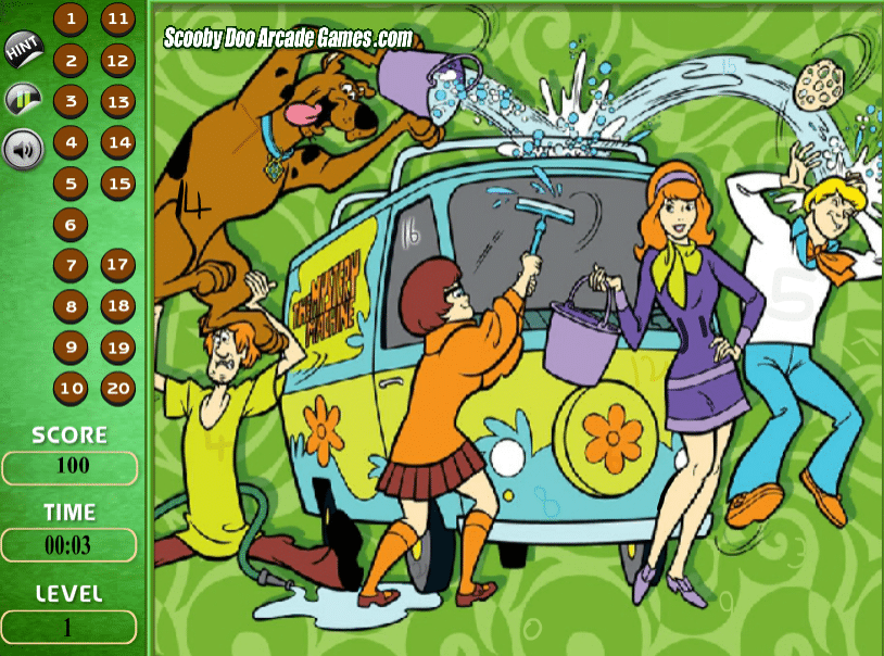 Image Scooby Doo Spot the Numbers