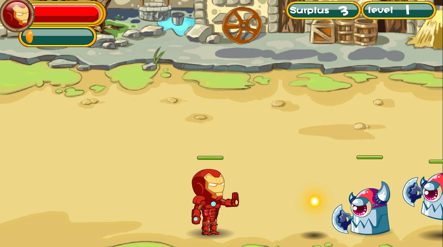 Image Hero Vs Alien Robot