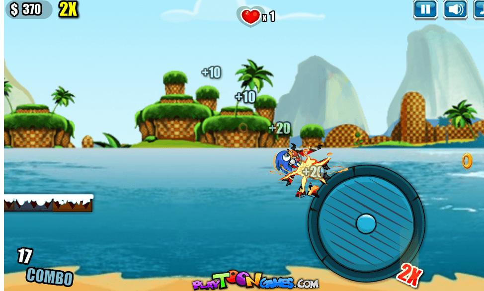 Image Sonic Jumping Stars