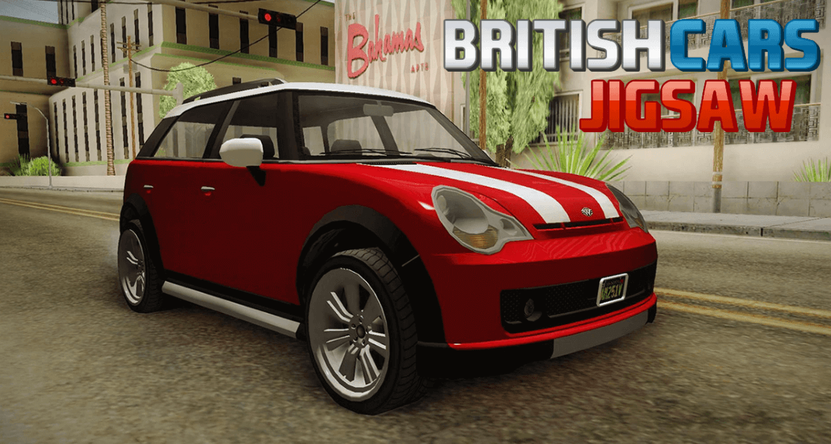 Image British Cars Jigsaw
