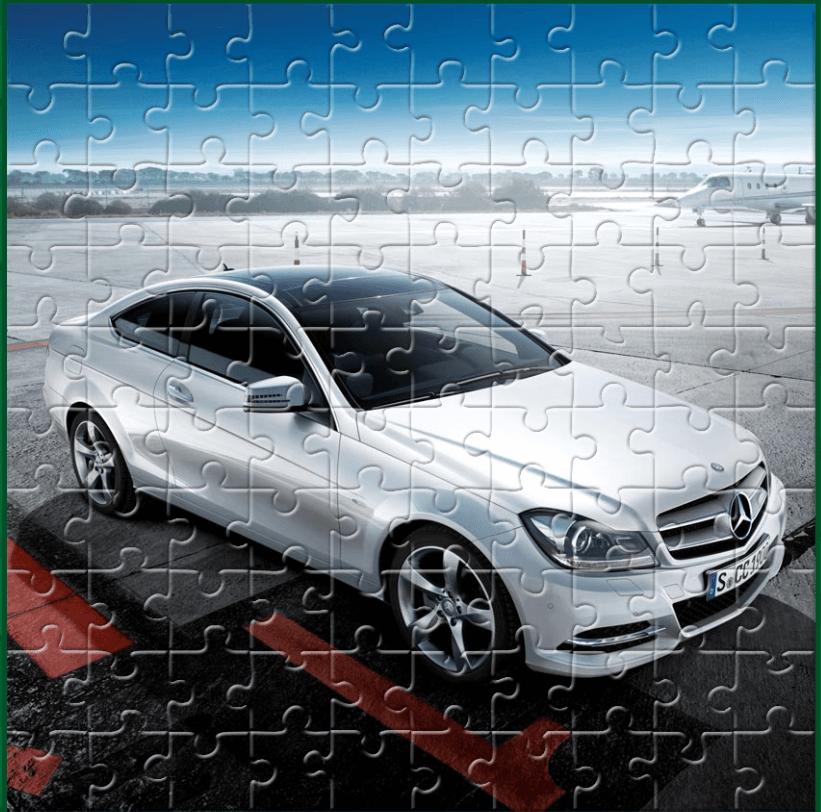 Image C Couple Cars Puzzle