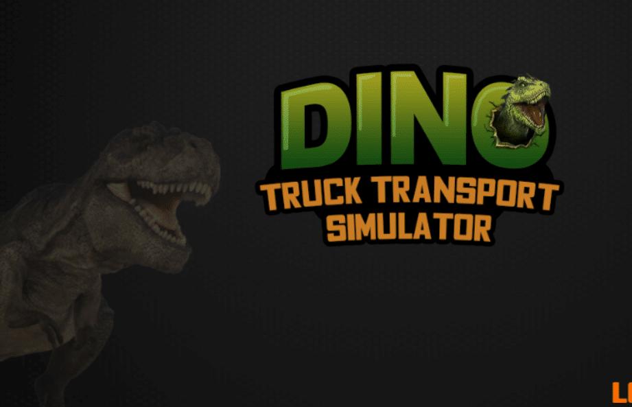 Image Dino Transport Truck