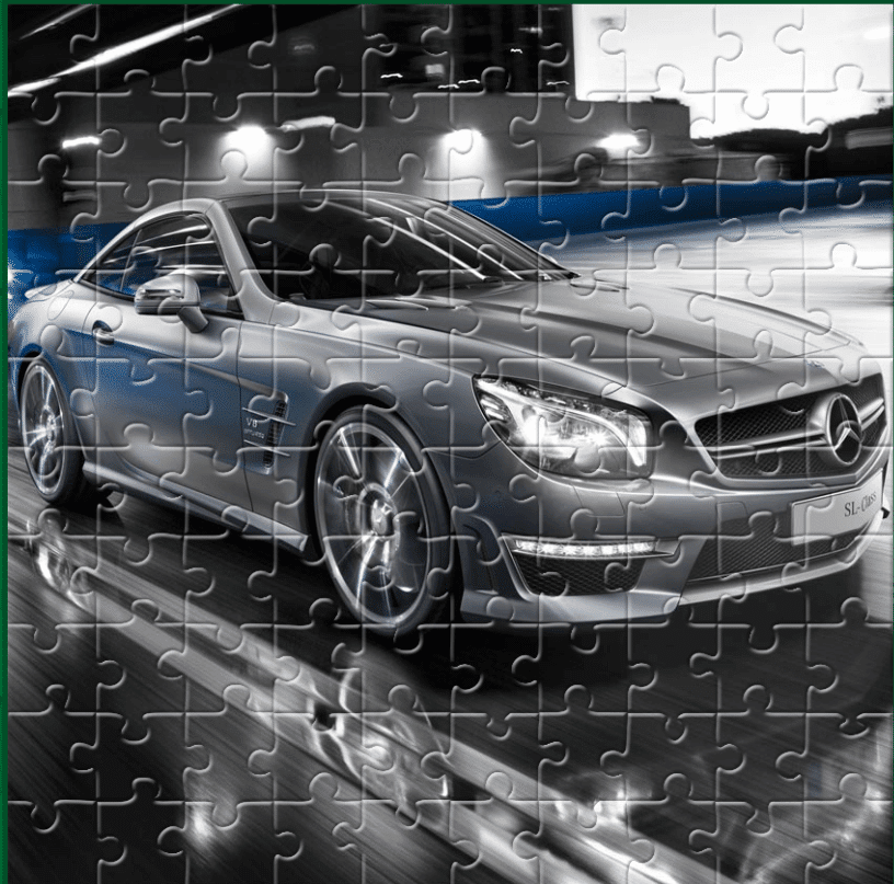 Image SL Roadster Puzzle
