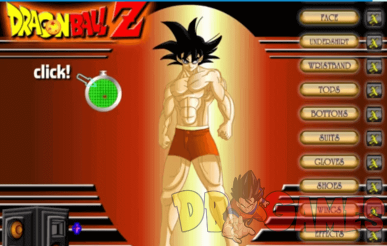 Image Dragon Ball Dress Up