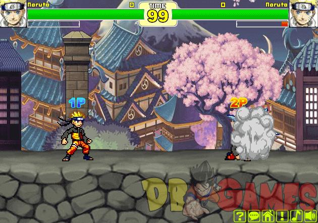 Anime Fighters CR Sasuke Game