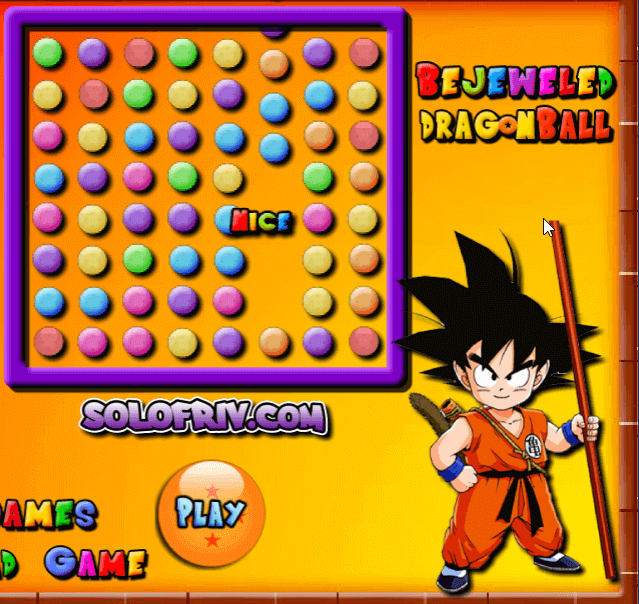 Bejeweled Dragon Ball