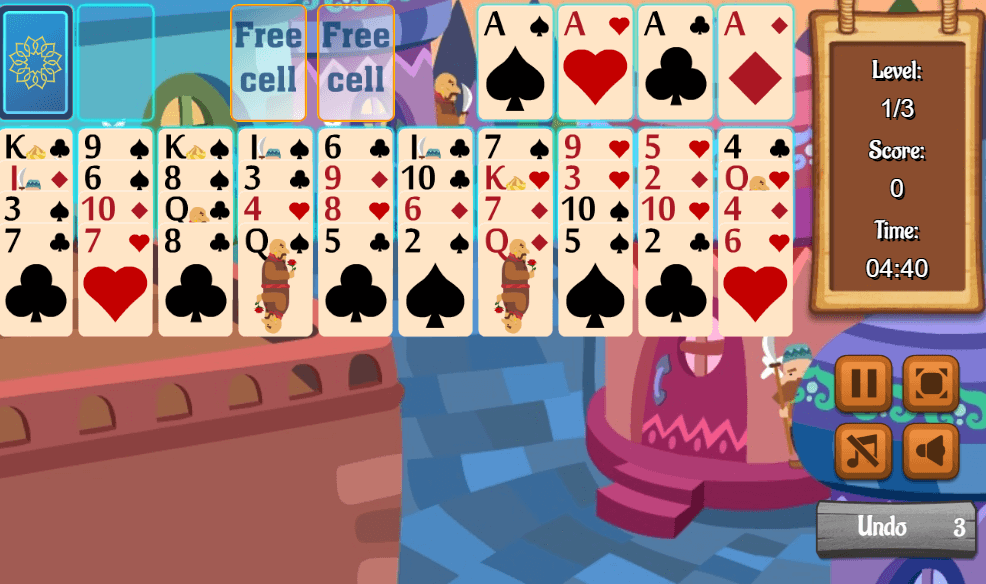 Image Ali Baba Solitaire